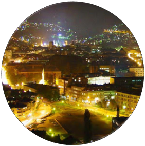 Res till Bosnien - Sarajevo