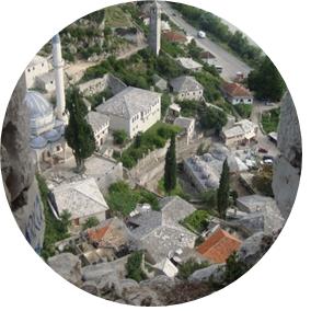 Res till Bosnien - Pocitelj