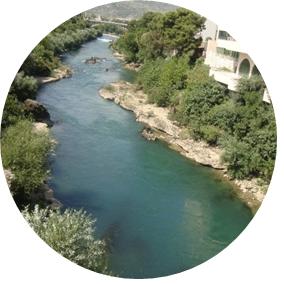 Res till Bosnien - Mostar - Neretva